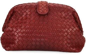 Bottega VenetaBottega Veneta Lauren Napa Intrecciato Clutch Bag