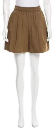 Tome High-Rise Mini Shorts