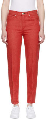 Rag & Bone Red Ash Jeans