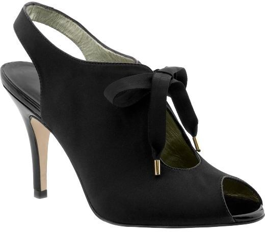 'Shiri' satin oxford pump