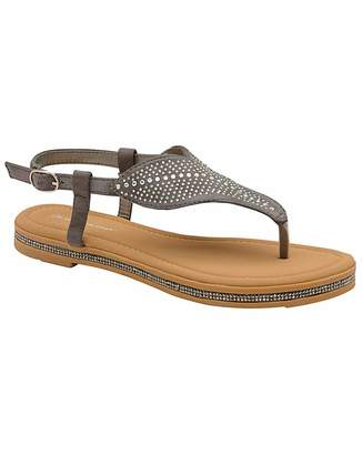 Dunlop Amy women's toe-post sandals