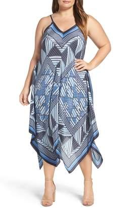 Nic+Zoe Calypso Handkerchief Hem Sundress