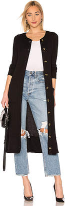Chaser Long Sleeve Button Front Duster with Pockets