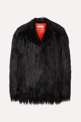 Philosophy di Lorenzo Serafini Faux Fur Coat - Black