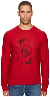 Just Cavalli Skeleton Sweater Men's Clothing