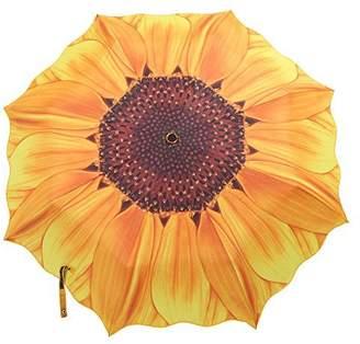 Claybox Sunflower Folding Travel Umbrella Parasol