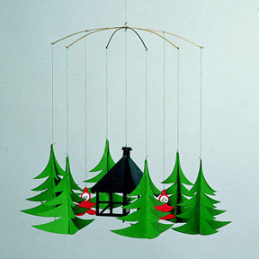 Flensted Mobiles Pixies in the Xmas Forest