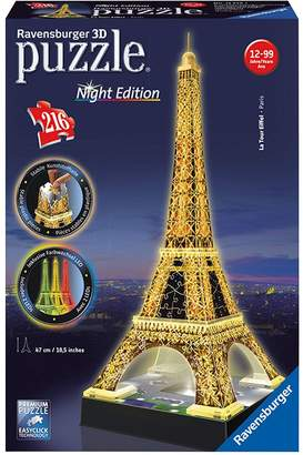 Ravensburger Eiffel Tower Night Edition 3D Puzzle