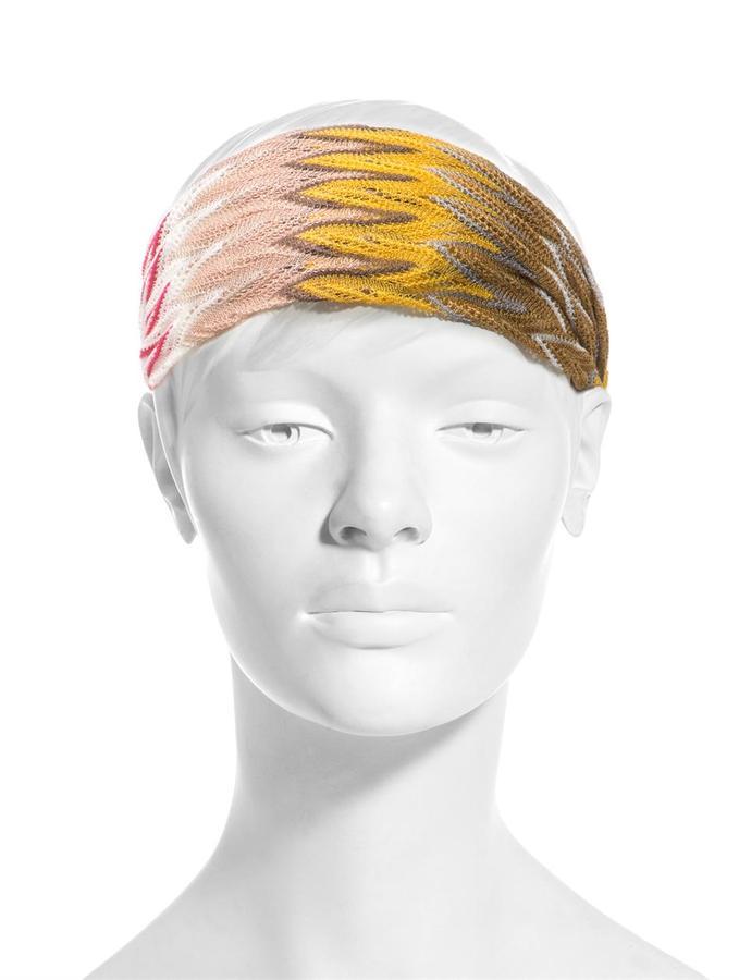 Missoni Mare Chevron knit head band