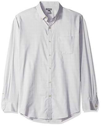 Van Heusen Men's Flex Button Down Long Sleeve Stretch Solid Shirt