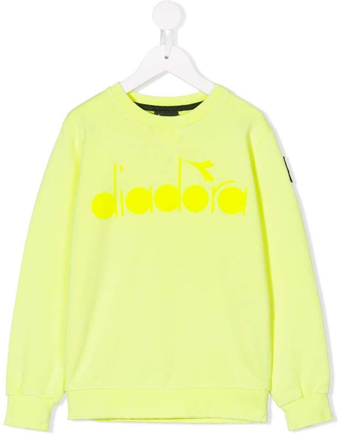 Diadora Junior logo sweatshirt