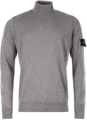 Stone Island Roll Neck Sweater - Grey