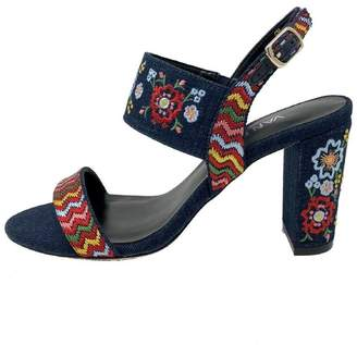 VANELi Denim Embroidered Heel