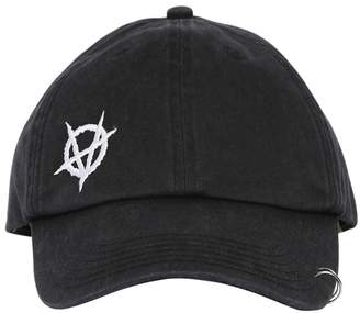 Vetements ANARCHY EMBROIDERED CAP W/RING
