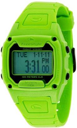 Freestyle (フリースタイル) - [フリースタイル]Freestyle スポーツウォッチ SHARK CLASSIC TIDE デジタル表示 タイドグラフ・ストップウォッチ機能付き 10気圧防水 グリーン FS85003 メンズ 【正規輸入品】