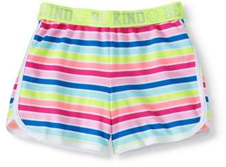 Wonder Nation Girls' Printed Dolphin Shorts