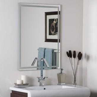 Décor Wonderland Frameless Etch Mirror