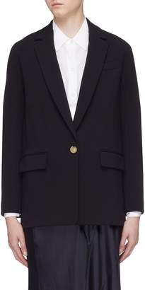 Vince Single breasted oversized blazer