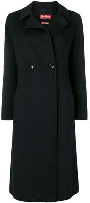 Max Mara belted double-breasted coat