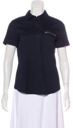Theory Mary Button-Up Top