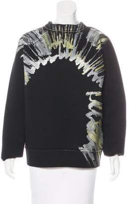 Marni Printed Neoprene Sweater w/ Tags