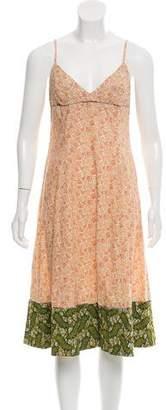 Dosa Midi Floral Print Dress