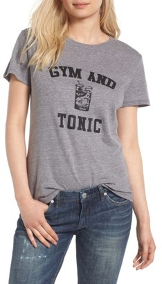 Women's Sub_Urban Riot Gym & Tonic Graphic Tee $34 thestylecure.com