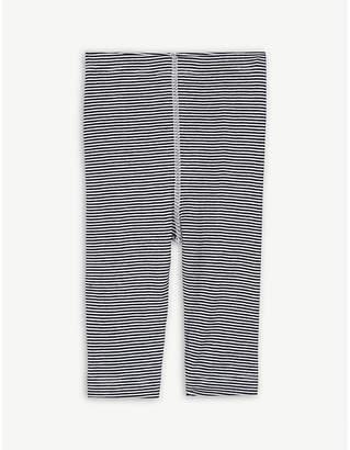 Petit Bateau Milleraies-striped cotton leggings 3-12 months