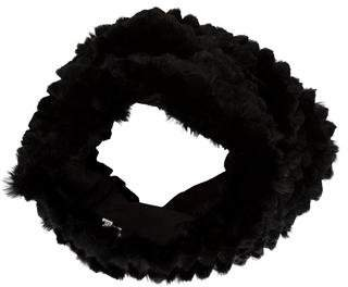 Helmut Lang Fur Knitted Snood