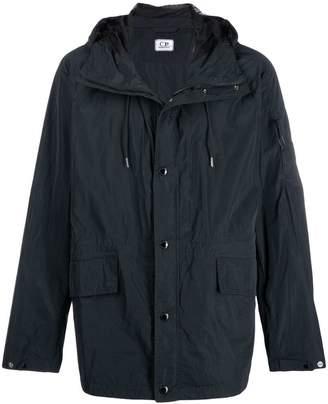 C.P. Company arm lens hooded jacket
