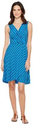 Tommy Bahama Portside Stripe Short Dress Women's Dress