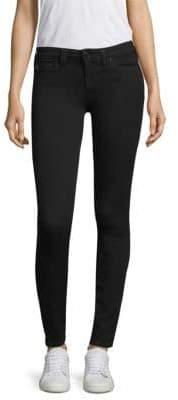 Halle Super-Skinny Ankle Jeans