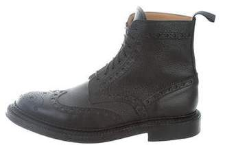 Grenson Wingtip Brogue Ankle Boots