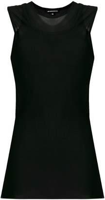 Ann Demeulemeester double-layer vest top