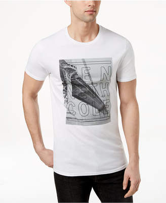 Kenneth Cole New York Men's Bridge Logo-Print T-Shirt