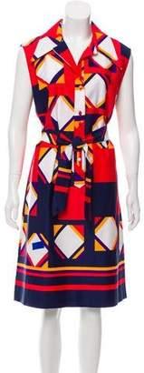 Lanvin Vintage Midi Dress