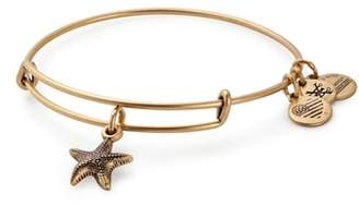 Alex and Ani Starfish Adjustable Wire Bangle