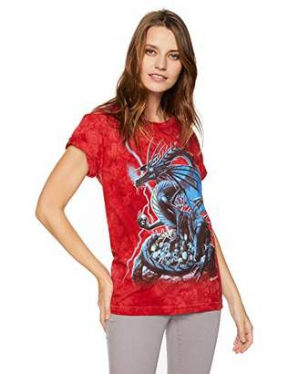 The Mountain Skull Dragon Adult Woman's T-Shirt