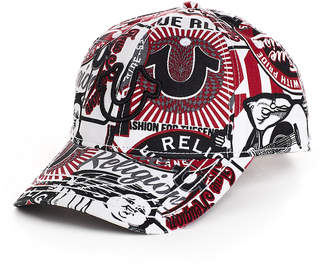 True Religion U PATCH CAP
