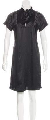 Marc Jacobs Silk Short Sleeve Dress