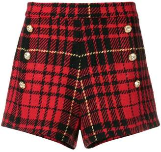 Couture Forte Dei Marmi check pattern shorts