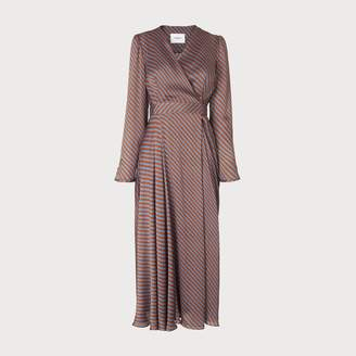 LK Bennett Loreta Rust Dress