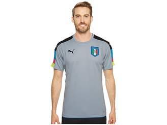 Puma FIGC Italia Goalkeeper Short Sleeve Shirt Men's Short Sleeve Pullover