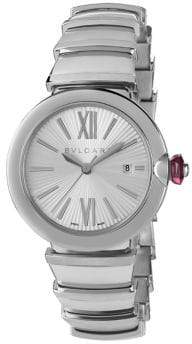 Bvlgari LVCEA Stainless Steel Bracelet Watch