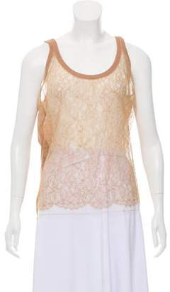 Valentino Lace Sleeveless Top w/ Tags