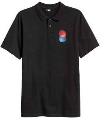 H&M Polo Shirt - Blue