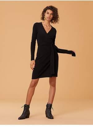 Diane von Furstenberg New Linda Cashmere Wrap Dress