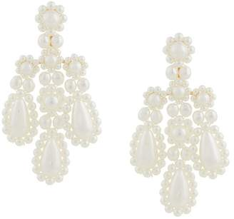 Simone Rocha stacked earring