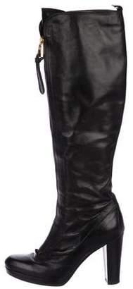 Barbara Bui Leather Knee-High Boots