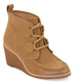 G.H. Bass Rosa Suede Wedge Boots